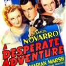 A Desperate Adventure (1938) - Ramon Novarro  DVD