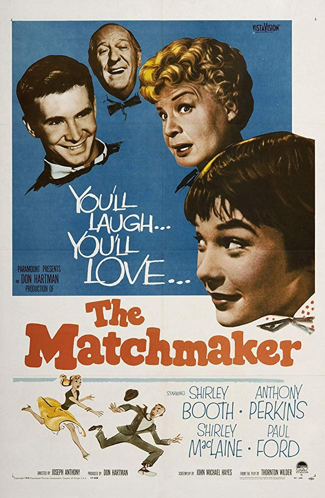 The Matchmaker (1958) - Anthony Perkins  DVD