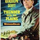 Thunder Over The Plains (1953) - Randolph Scott  DVD