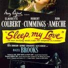 Sleep, My Love (1948) - Claudette Colbert  DVD