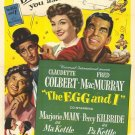 The Egg And I (1947) - Fred MacMurray  DVD