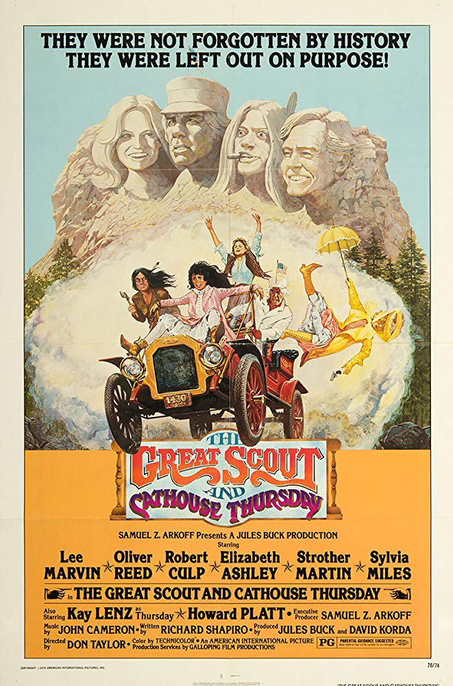The Great Scout And Cathouse Thursday (1976) - Lee Marvin  DVD