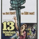 13 Frightened Girls (1963) - Murray Hamilton  DVD