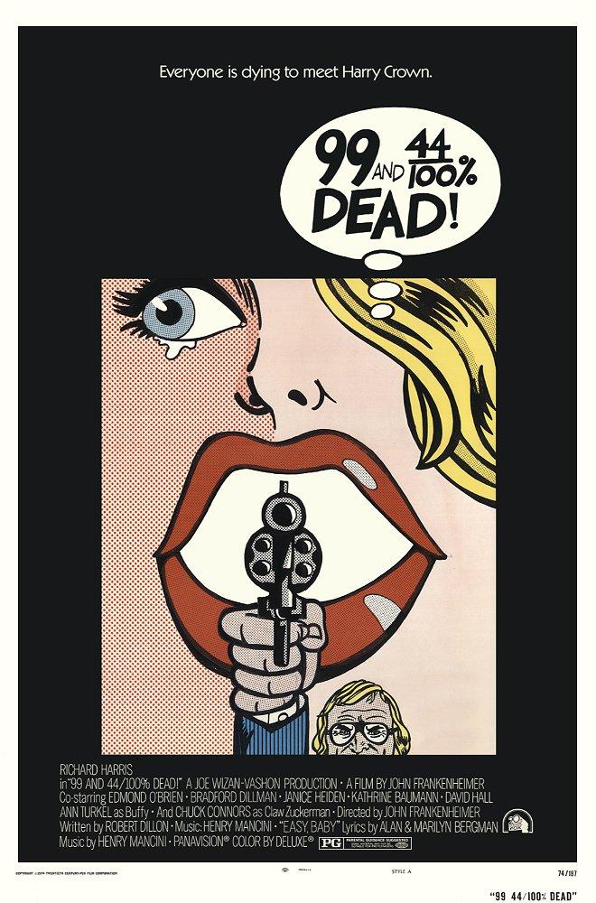 99 And 44/100 % Dead (1974) - Richard Harris  DVD