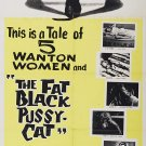 The Fat Black Pussycat (1963) - Frank Jamus  DVD