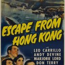 Escape From Hong Kong (1942) - Don Terry  DVD