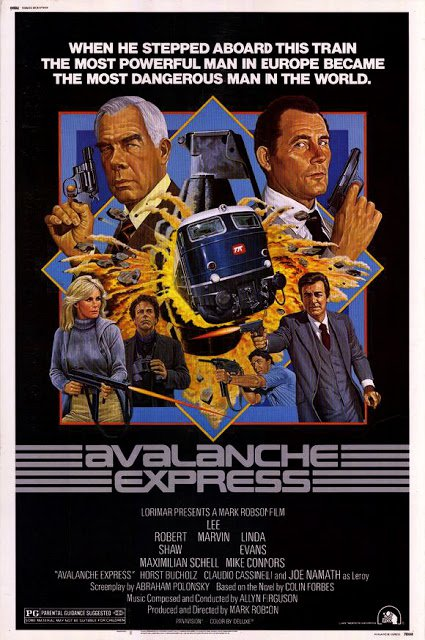 Avalanche Express (1979) - Lee Marvin  DVD