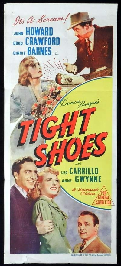 Tight Shoes (1941) - John Howard  DVD