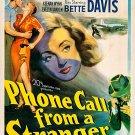 Phone Call From A Stranger (1952) - Bette Davis  DVD