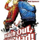 Watch Out We´re Mad (1974) - Bud Spencer  DVD