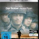 Private Ryan (1998) - Tom Hanks  4K Ultra HD + Blu-ray