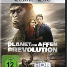 Rise Of The Planet Of The Apes (2011) - James Franco  4K Ultra HD + Blu-ray