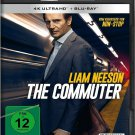 The Commuter (2018) - Liam Neeson  4K Ultra HD + Blu-ray