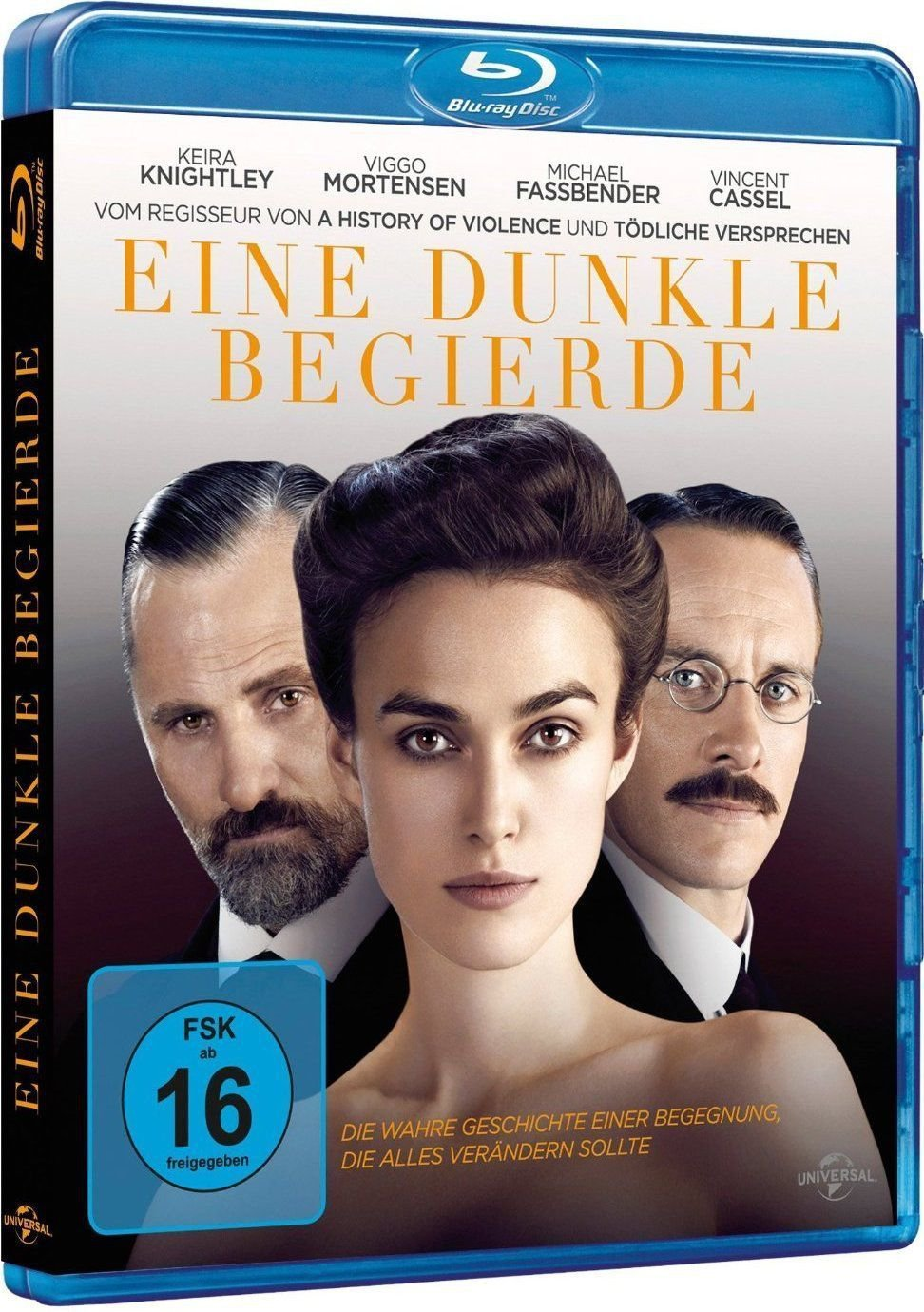 A Dangerous Method (2011) - Keira Knightley  Blu-ray
