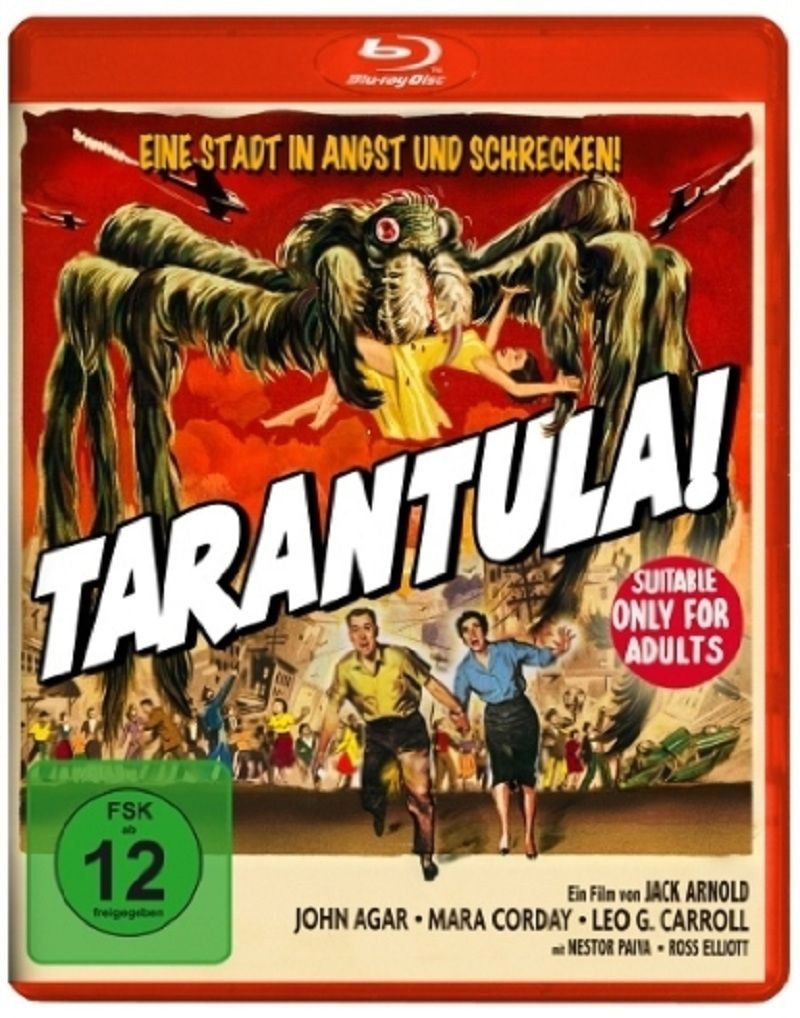 Tarantula (1955) - John Agar  Blu-ray