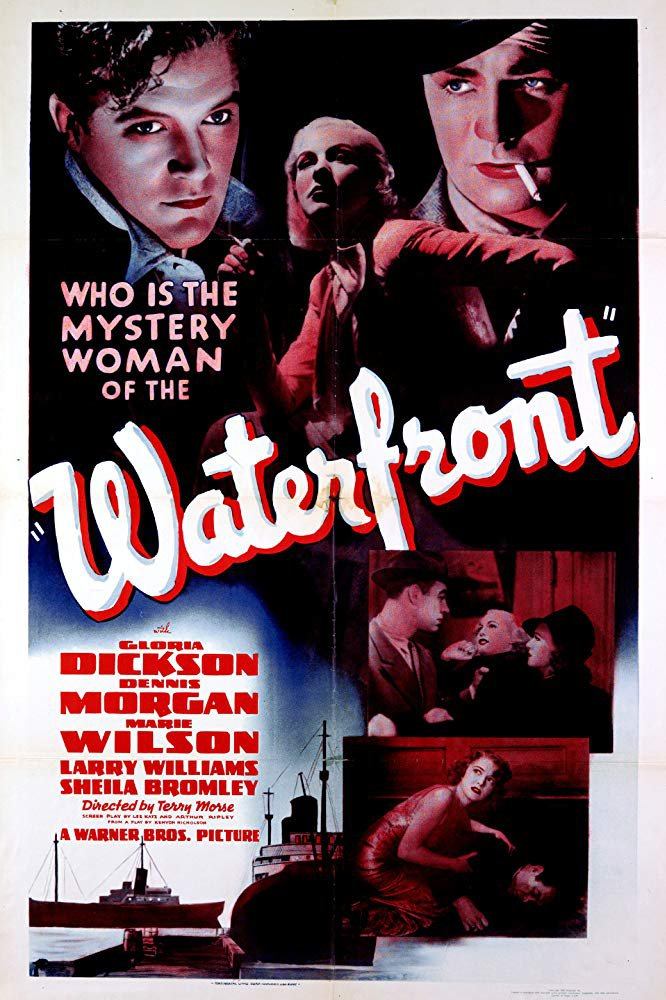 Waterfront (1939) - Dennis Morgan  DVD