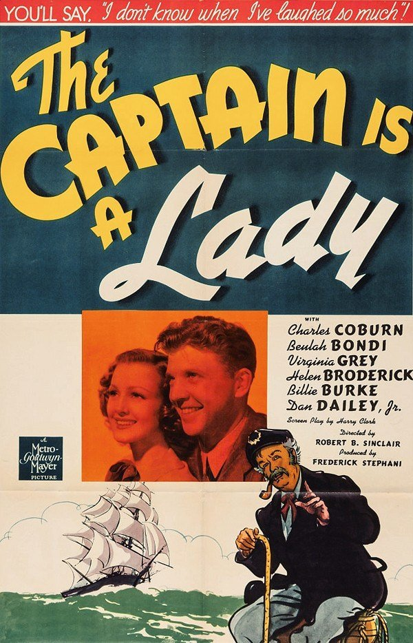 The Captain Is A Lady (1940) - Charles Coburn  DVD