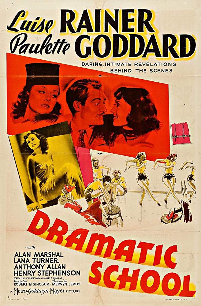 Dramatic School (1938) - Paulette Goddard  DVD