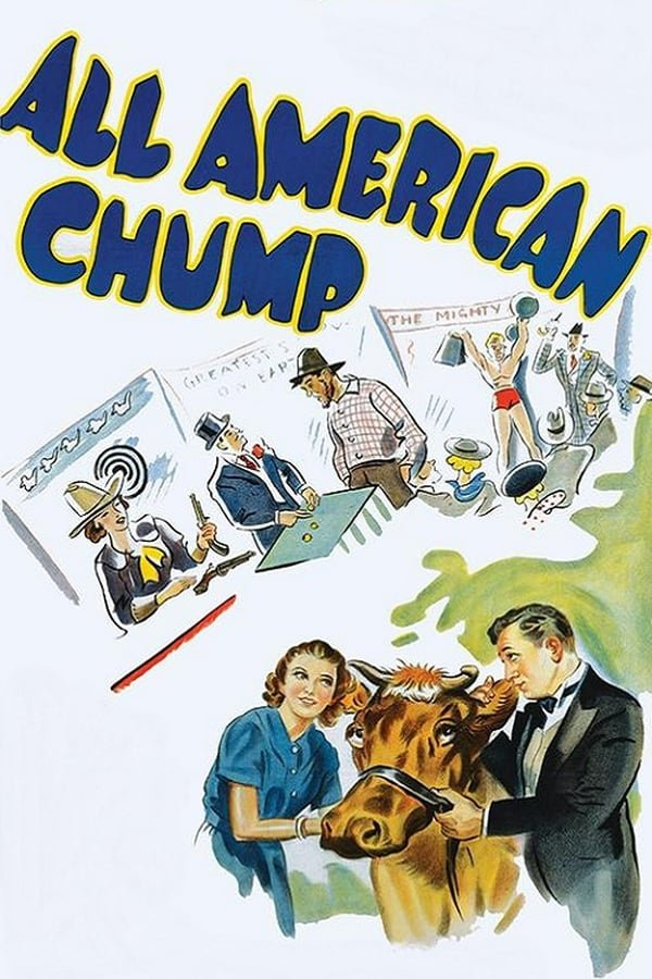 All American Chump (1936) - Robert Armstrong  DVD