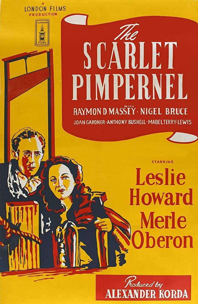 The Scarlet Pimpernel (1934) - Leslie Howard  DVD