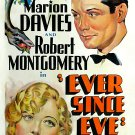 Ever Since Eve (1937) - Robert Montgomery  DVD