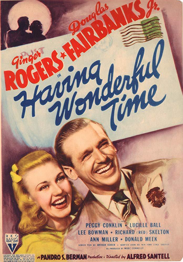Having Wonderful Time (1938) - Ginger Rogers  DVD