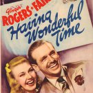 Having Wonderful Time (1938) - Ginger Rogers  DVD