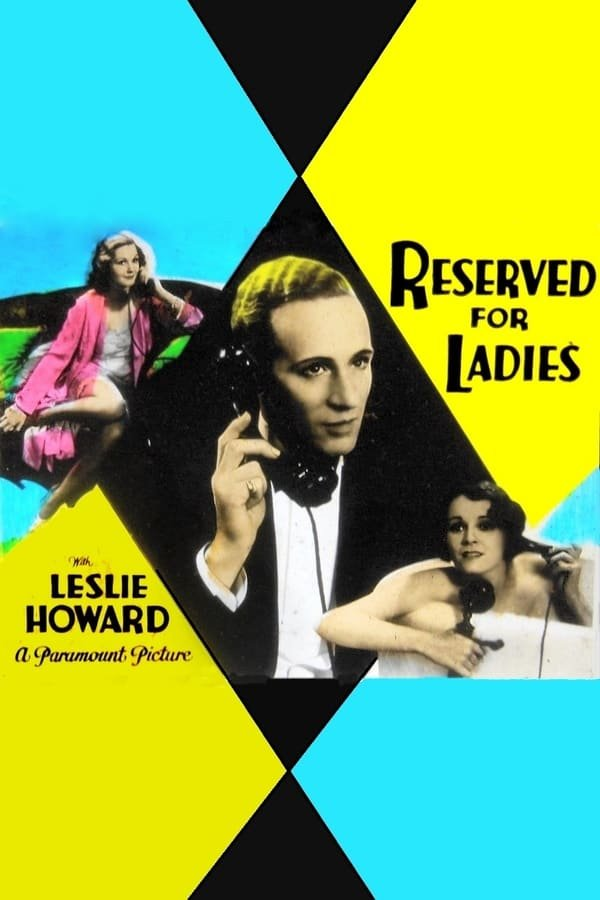 Reserved For Ladies AKA Service For Ladies (1932) - Leslie Howard  DVD