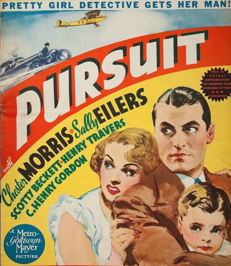 Pursuit (1935) - Chester Morris  DVD