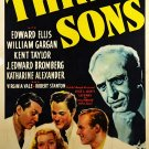 Three Sons (1939) - Edward Ellis  DVD