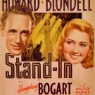 Stand-In (1937) - Humphrey Bogart  DVD