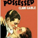 Possessed (1931) - Clark Gable  DVD
