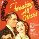 Forsaking All Others (1934) -  Robert Montgomery  DVD