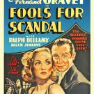 Fools For Scandal (1938) - Carole Lombard  DVD