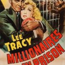 Millionaires In Prison (1940) - Lee Tracy  DVD