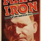 Man Of Iron (1935) - Barton MacLane  DVD