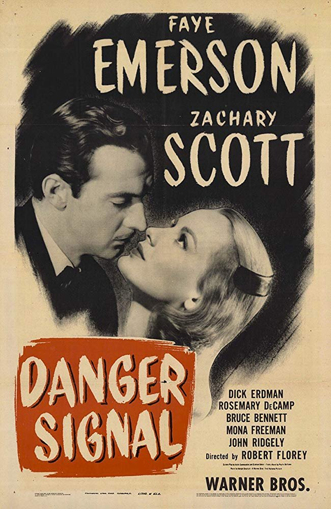 Danger Signal (1945) - Zachary Scott  DVD