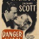 Danger Signal (1945) - Zachary Scott  DVD