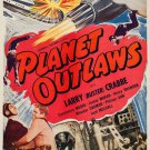 Planet Outlaws (1953) - Buster Crabbe  DVD
