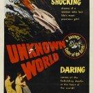 Unknown World (1951) - Bruce Kellogg  DVD