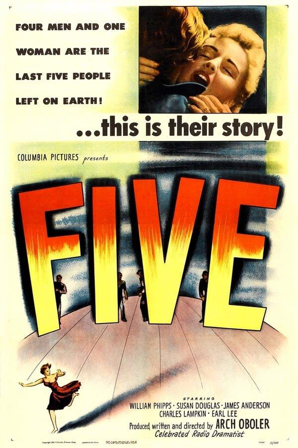 Five (1951) - William Phipps  DVD