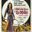 The Million Eyes Of Sumuru (1967) - George Nader  DVD