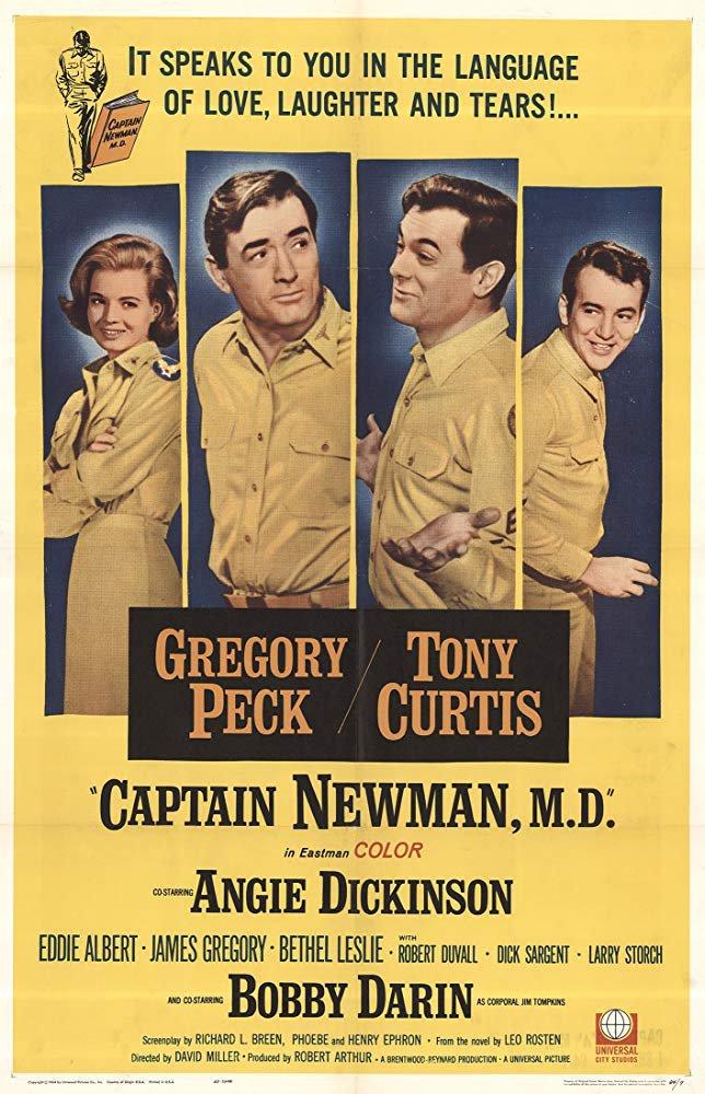 Captain Newman, M.D. (1963) - Gregory Peck  DVD