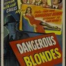 Dangerous Blondes (1943) - Allyn Joslyn  DVD