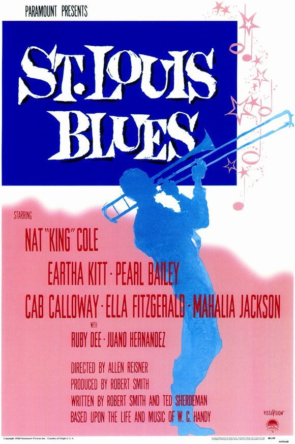 St. Louis Blues (1958) - Nat King Cole  DVD