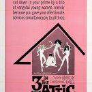Three In The Attic (1968) - Christopher Jones  DVD