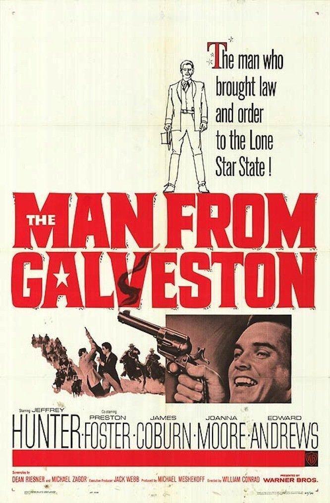 The Man From Galveston (1963) - Jeffrey Hunter  DVD