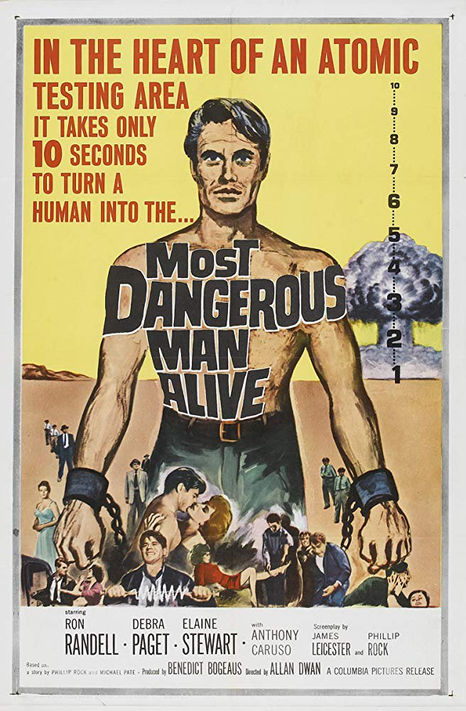 Most Dangerous Man Alive (1961) - Ron Randell  DVD
