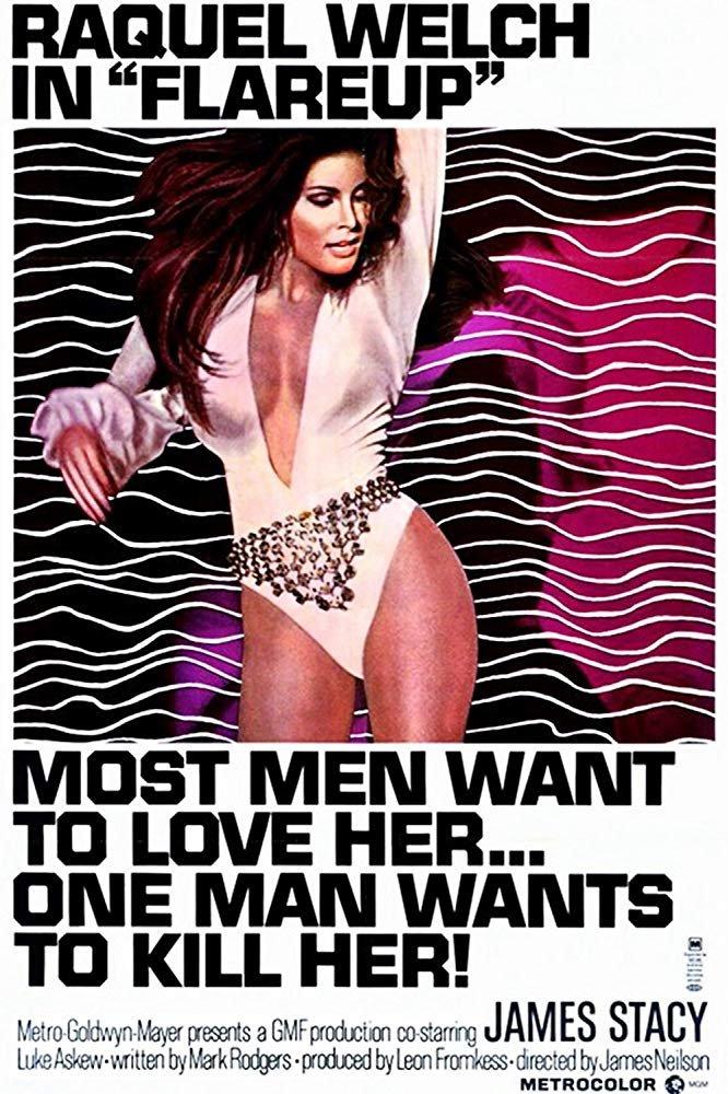 Flareup (1969) - Raquel Welch  DVD