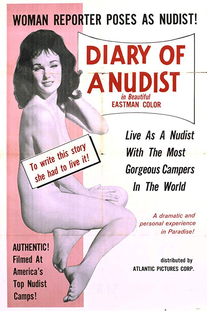 Diary Of A Nudist (1961) - Doris Wishman  DVD